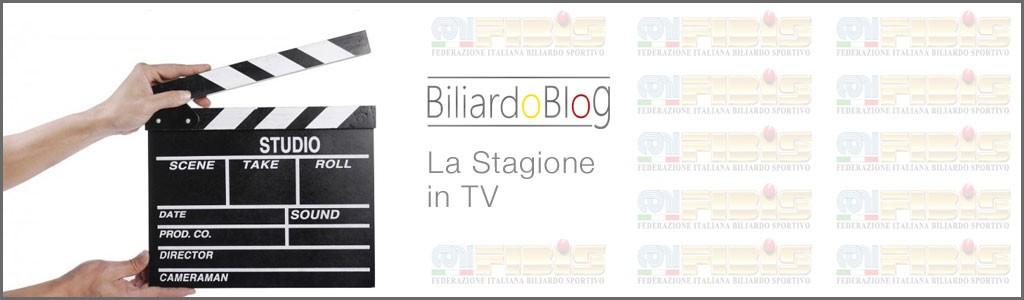 Campionato BTP di Biliardo in Tv 2016-2017