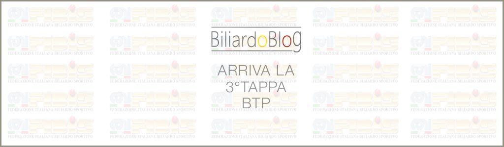 Terza Tappa BTP di Biliardo 2017
