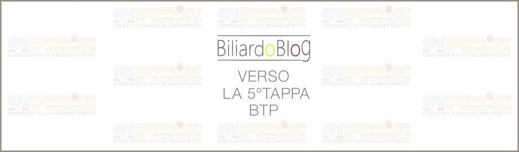 La Quinta Tappa BTP di Biliardo 2017