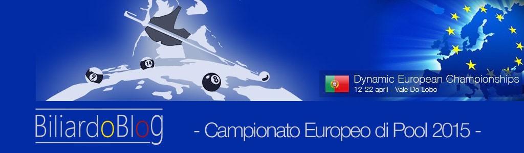 Biliardo Pool Campionato Europeo 2015