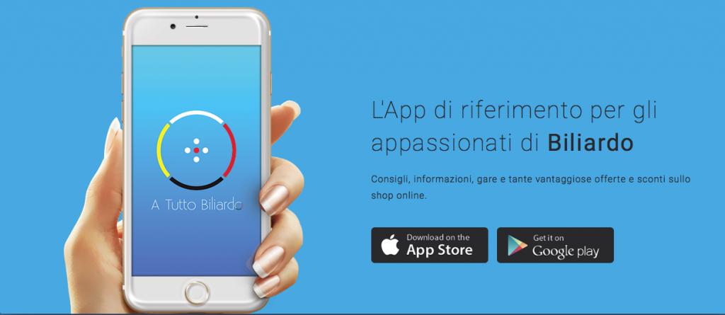 A Tutto Biliardo: l'App sul biliardo
