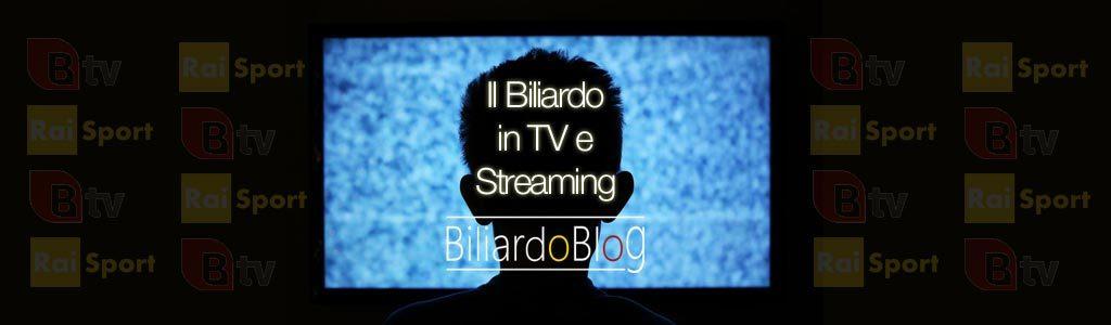 Dove guardare le partite di Biliardo