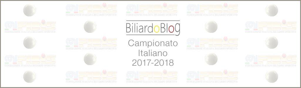 Il Campionato Italiano di Biliardo 2017 2018