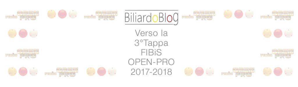Verso la Terza Tappa Campionato Biliardo 2017 2018