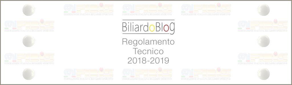 Campionato Italiano di Biliardo 2018 2019