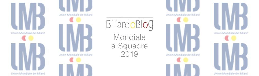 Campionato del Mondo di Biliardo a Squadre 2019