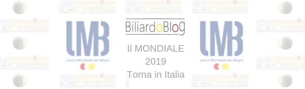 Verso il Campionato del Mondo di Biliardo 2019