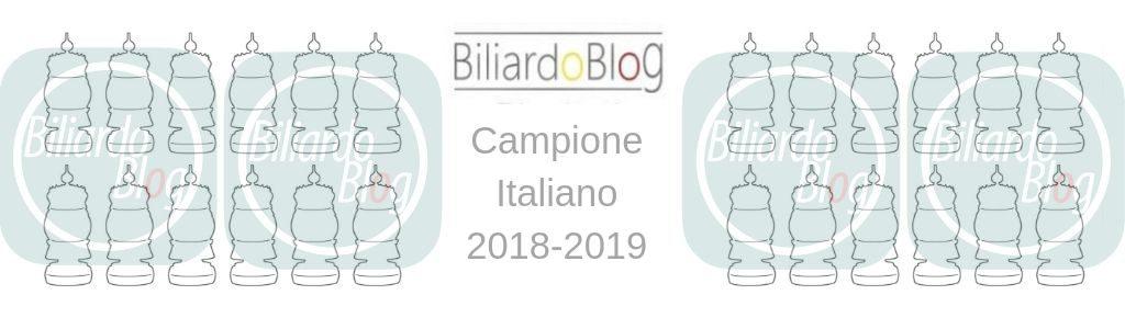 Ecco il Campione Italiano Biliardo 2019