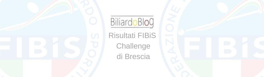 I Risultati FIBiS Challenge Brescia 2020