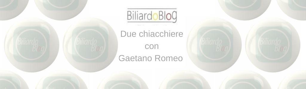 Gaetano Romeo, intervista al campione siciliano!